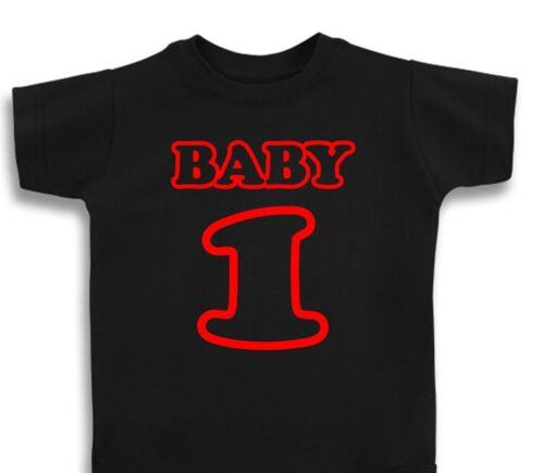 MOTO BABY T SHIRT ONE PIECE BABY INFANT NUMBER PLATE MX SUPERCROSS MOTOCROSS