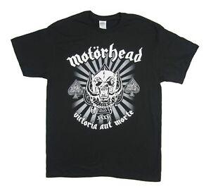 Motorhead-40th-Anniversary-2015-Tour-Victoria-Aut-Morte-Black-Shirt-New-Official