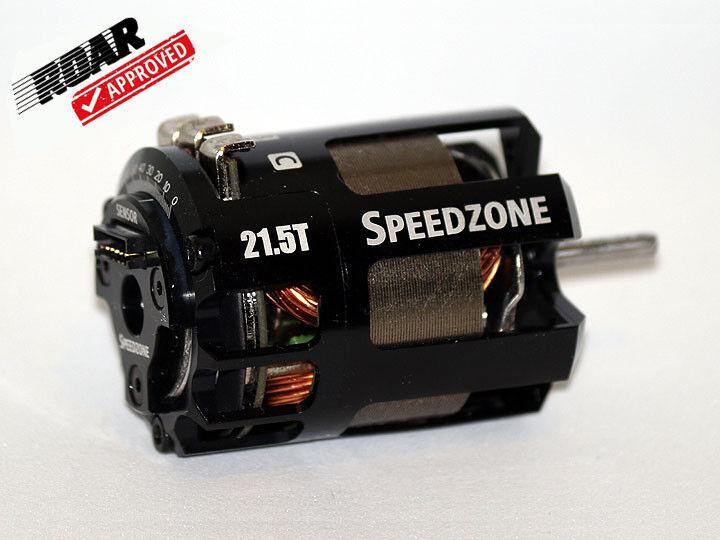 Speedzone 21.5T Spec Brushless Motor BL Competition ROAR Approved Sensorojo NEW