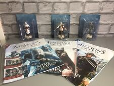 Assassins Creed Magazine Issues #1 #2 And #3 Altaïr, Ezio And Haytham