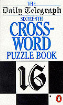 The Daily Telegraph 16th Crossword Puzzle Book: No. 16 (Penguin Crosswords S.),