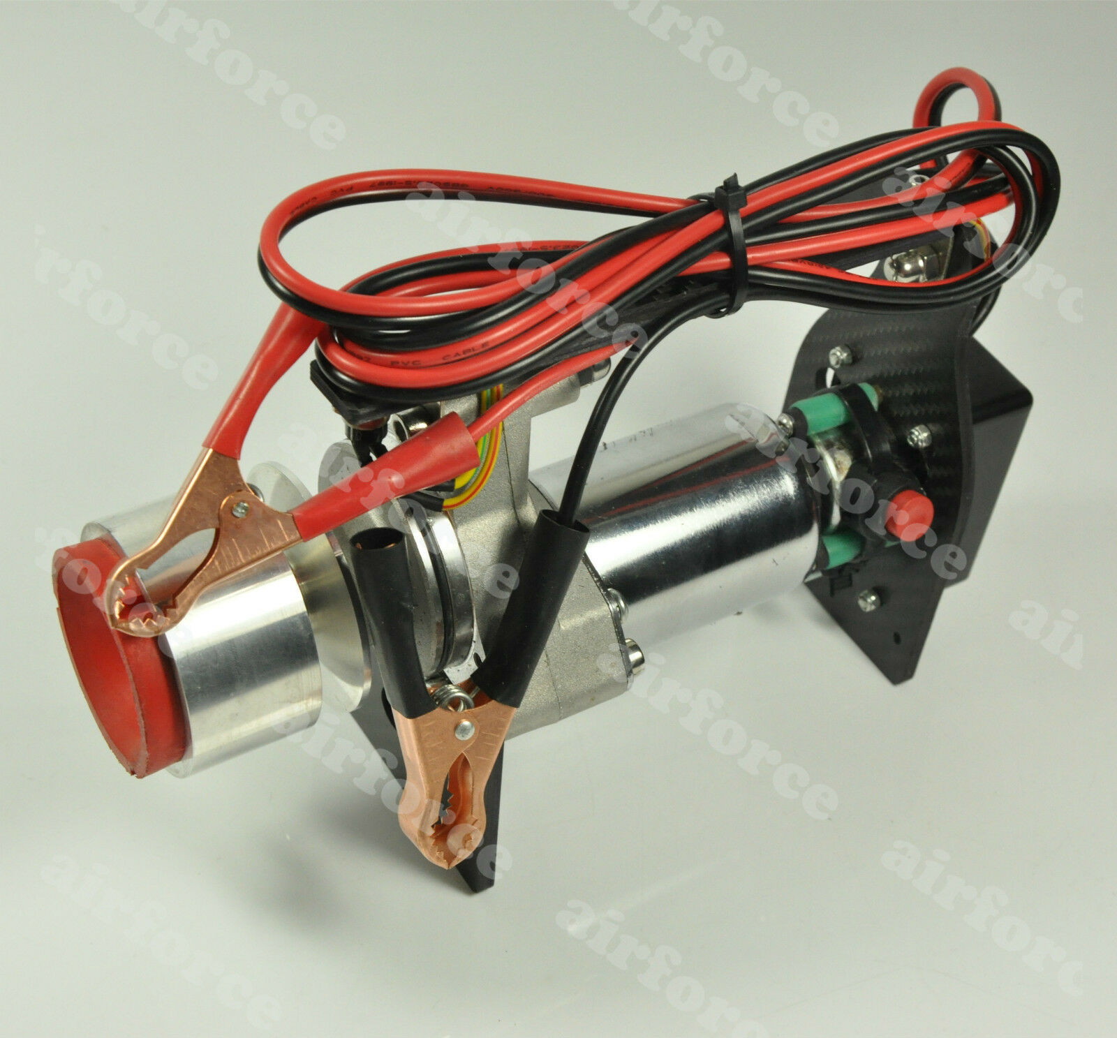 1 Set Toc rojoo Terminator de arranque motor de avión para gas 20-80cc kits de arranque