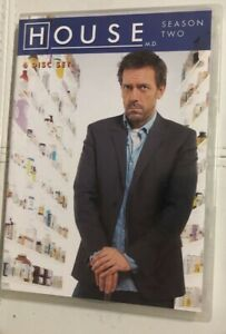 House-MD-Season-2-DVD-2006-6-Disc-Set-BARGAIN-Medical-Mystery-TV-Drama