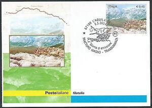 2004 ITALIA CARTOLINA POSTALE FDC TRANSUMANZA - Y hdTnm5zA-07165055-149280214