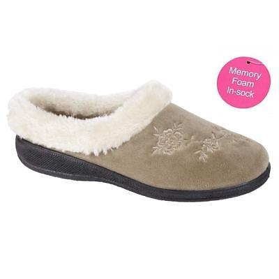 Zapatillas De Damas Para mujeres Chicas Invierno Cálido Piel De Lujo De Espuma De Memoria Zapatillas Zapatos