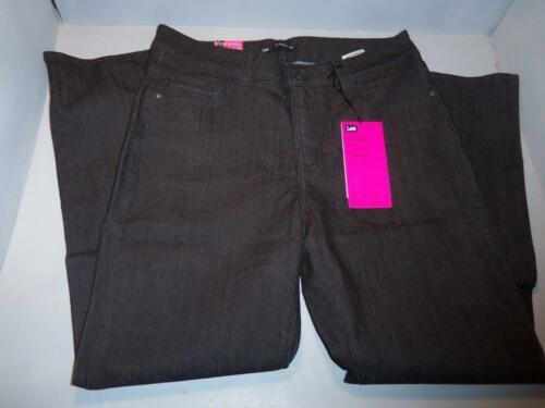 Lee Women/'s Black Denim Stretch Petite Jeans SIZES NWT NEW Studs Embellished!!