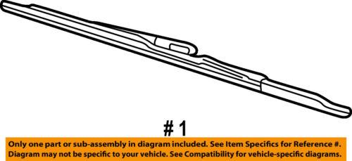 FORD OEM Wiper Arm-Front Blade YF1Z17528AB