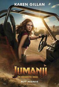 Jumanji-The-Next-Level-Movie-Karen-Gillan-32x48-27x40-24x36-Poster-1129CA