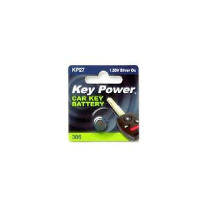 Alkaline 12V KeyPower Coin Cell Battery 27A Box of 10-27AKP-BOX10