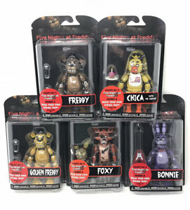FUNKO-FIVE-NIGHTS-AT-FREDDY-039-S-SERIES-1-SET-OF-5-ACTION-FIGURES-FNAF-SPRINGTRAP