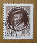 EBS East Germany DDR 1955 Georgius Agricola Anniversary Michel 497 CTO