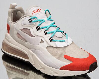 Nike Air Max 270 React Mid-Century Art Men's Beige Casual Lifestyle  Sneakers | eBay