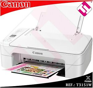 MULTIFUNCION-IMPRESORA-CANON-TS3151-BLANCA-WIFI-A4-ESCANER-DISPONIBLES-EN-ROJAS