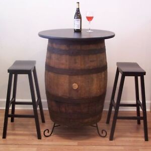 Image Is Loading White Oak Whiskey Barrel Table 30 034 Table