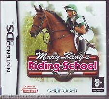 MARY KING'S RIDING SCHOOL (2007) NINTENDO DS EDIZIONE ITALIANA, PAL