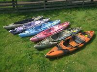 Sit On Top/sit Inside Fishing Kayak Canoe Galaxy Bison