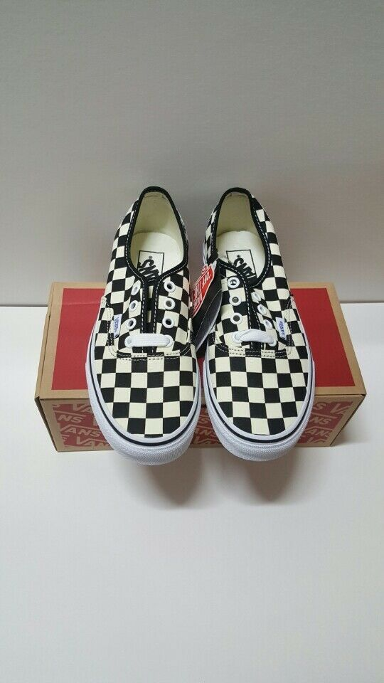 Vans Authentic golden Coast Checkerboard size 5.5  100% AUTHENTIC Free Shipping