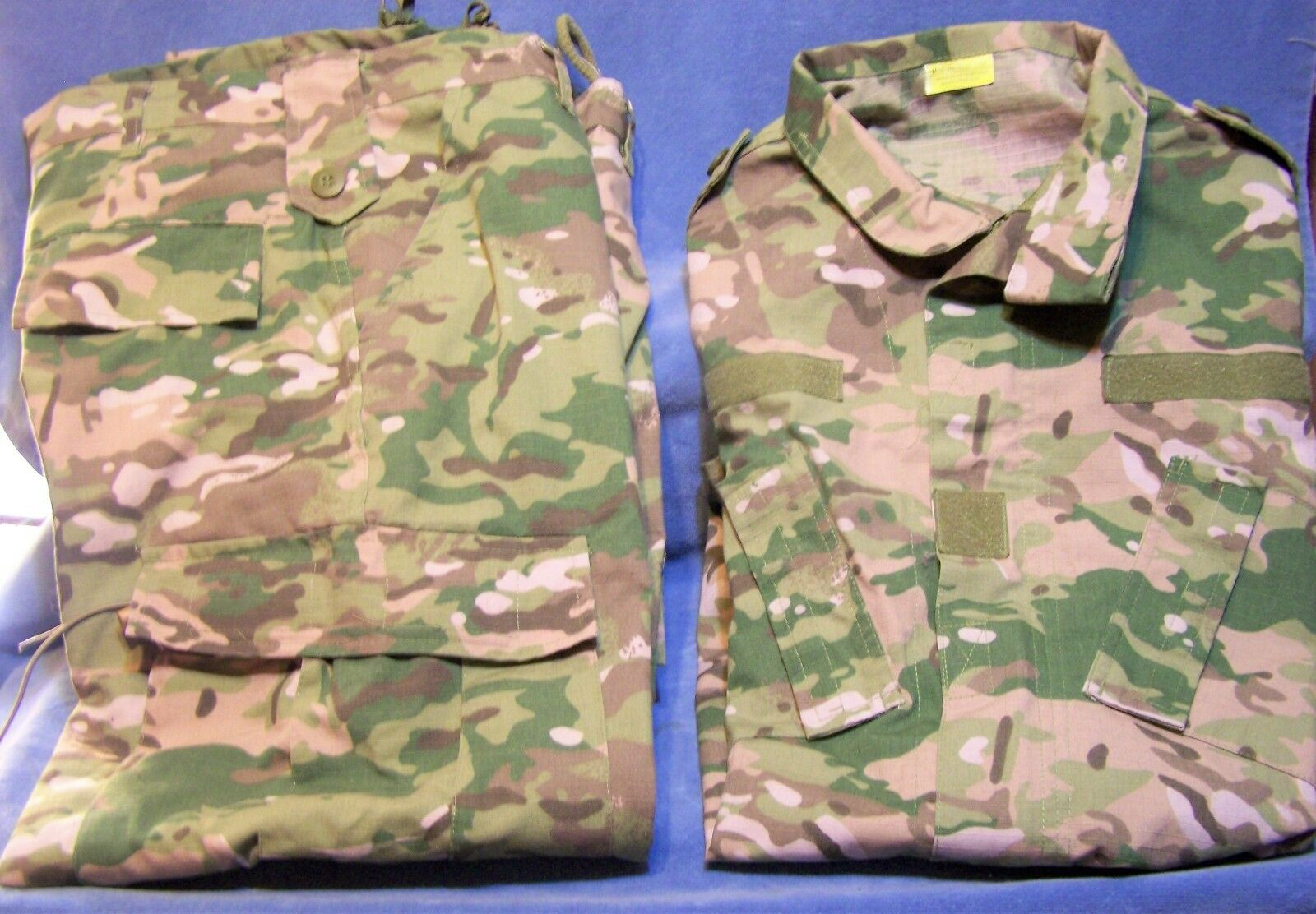 Camouflage Tactical Military Combat Uniform  Pants&Shirt Size Medium-Regular  discounts and more