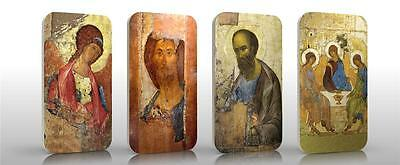 Generous Niue 2012 $2 Orthodox Shrines - Andrei Rublev Icons 4 X 1 Oz Siler Coin Set Always Buy Good