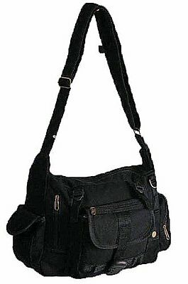 Damen Leinwand CrossBody Frauen Tasche
