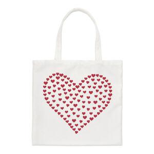 Heart-Of-Hearts-Regular-Tote-Bag-Love-Red-Valentine-039-s-Day-Shopper-Shoulder