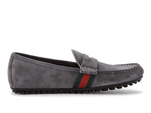 adad70615 GUCCI loafers driver $450 男鞋 MEN'S SHOES 紳士靴 100% AUT mmw17us ...