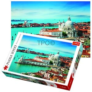 Trefl 2000 Piece Adult Large Venice Italy View Sea City Floor Jigsaw Puzzle NEW