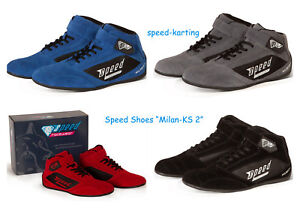 Speed-034-Milan-KS-2-034-Kartschuhe-Go-Kart-Karting-Shoes-Chaussures-Kart