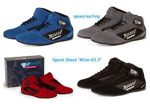 Speed-Milan-KS-2-Motorsportschuhe-Kartschuhe-Karting-Shoes-Chaussures-Kart