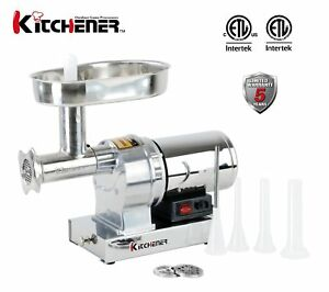 Kitchener 8 commercial grade electric stainless steel meat image is loading kitchener 8 commercial grade electric stainless steel meat sciox Choice Image