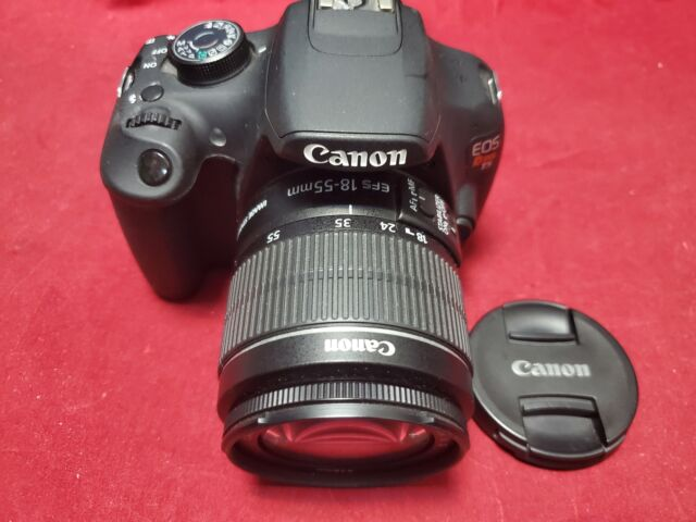 Canon EOS Rebel T5 DSLR w/ 18-55mm