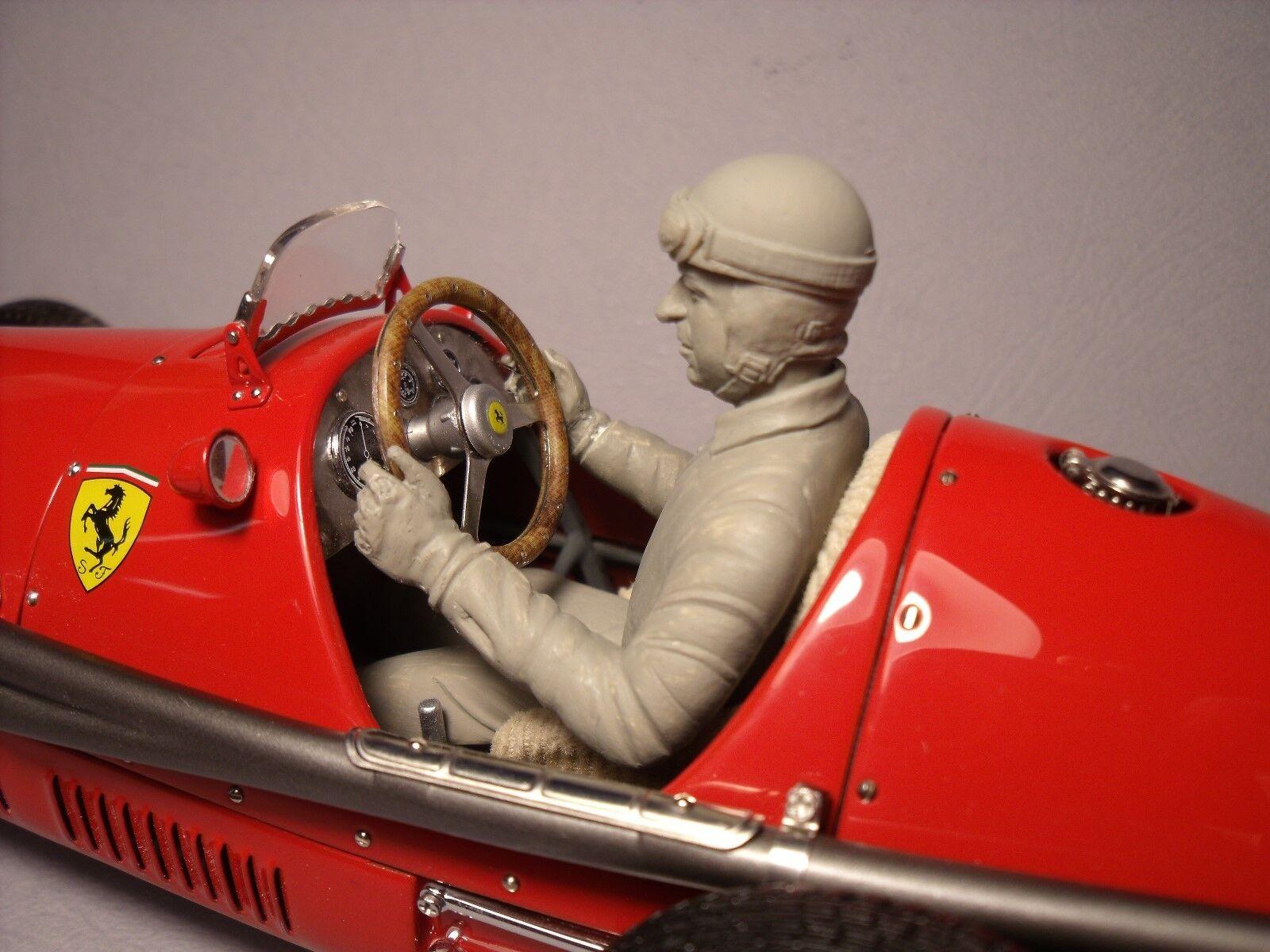 FOR  CMC  1 18    FERRARI  500  F2  ALBERTO  ASCARI  DRIVING  FIGURE  BY  VROOM 14069b