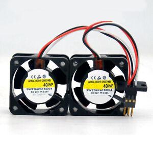 San Ace 40WF 9WF0424F6D04 FANUC A90L-0001-0507#A 24V 0.076A 3wire Cooling Fans