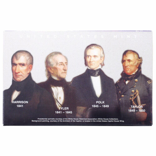 Empty Packaging Replacement Proof Presidential Dollar Set Box No Coins 2009