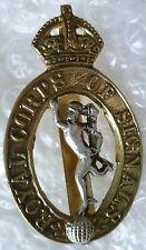 Badge- Royal Corps of Signal Cap Badge KC Bi-Metal Genuine*