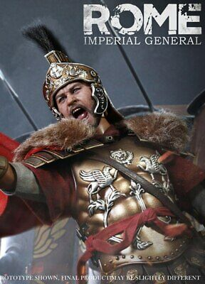 Imperial General Body Armor Metal HaoYuTOYS HH18006 1//6 ROME Imperial Army