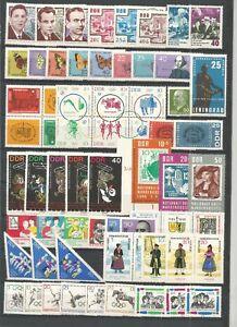 DDR-Postfrisch-kompletter-Jahrgang-1964-mit-Block-19-allen-Einzelmarken-4-Foto