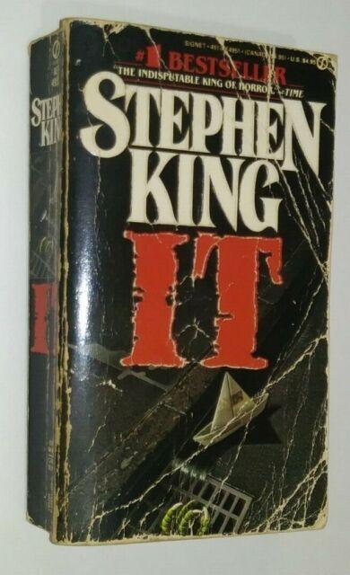 It by Stephen King (1987, Mass Market) for sale online   eBay