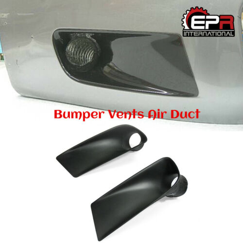 For Honda S2000 AP1 FRP Unpainted 2Pcs Front Bumper Air Duct Air Flow Vent Cover
