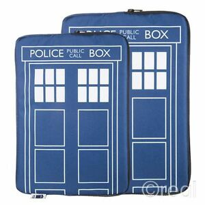 New In Pack Doctor Who Tardis Felt Table Sleeve iPad Official BBC