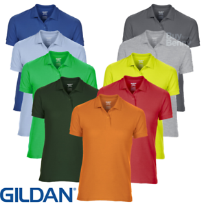 c1d15dc6eb3 Image is loading Gildan-LADIES-POLO-SHIRTS-DRYBLEND-WICKING-SPORTS-TENNIS-