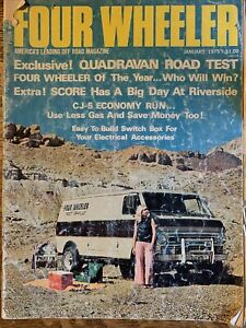 Four Wheeler Magazine - January 1975