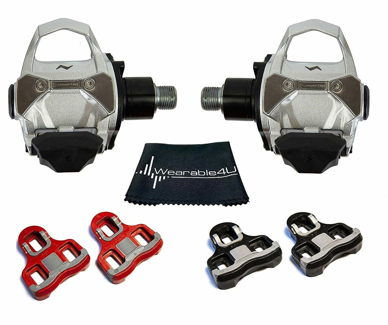 PowerTap P2 Ciclismo Power Meter Pedales Con Tacos & Portátil 4u Toalla Paquete 30507