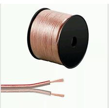 100m 2 X 1.5mm Speaker Cable Multi strands Transparent Audio Wire