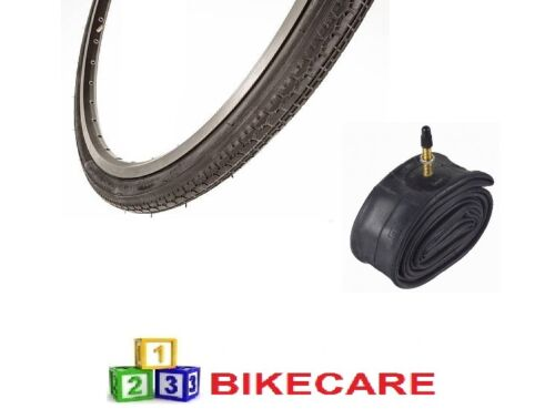 Black 24x1 38 Bike Road Tyre With Tyre Tube vc52161