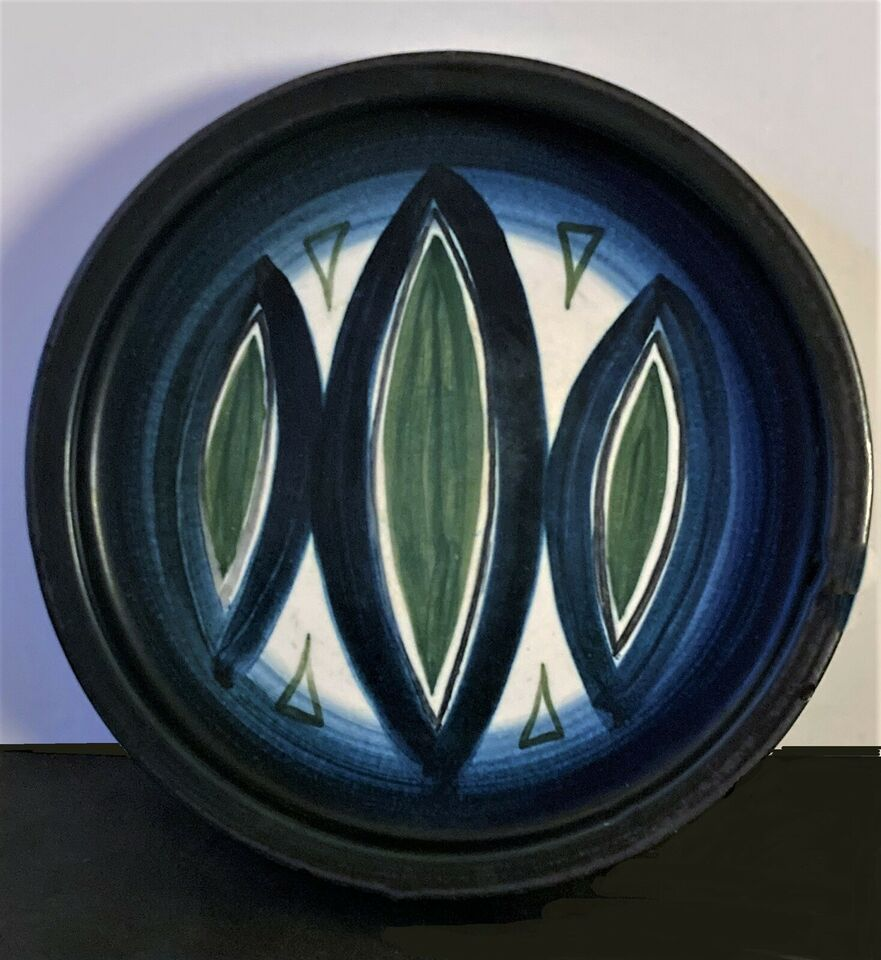 Keramik, Retro Bord Fad, Günter Praschak - Knabstrup