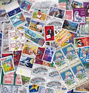 France stamp lot new francs facial EUR 100