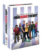 The Big Bang Theory Season 1 + 2 + 3 + 4 + 5 + 6 + 7 + 8 + 9 DVD NEU Staffel 1-9