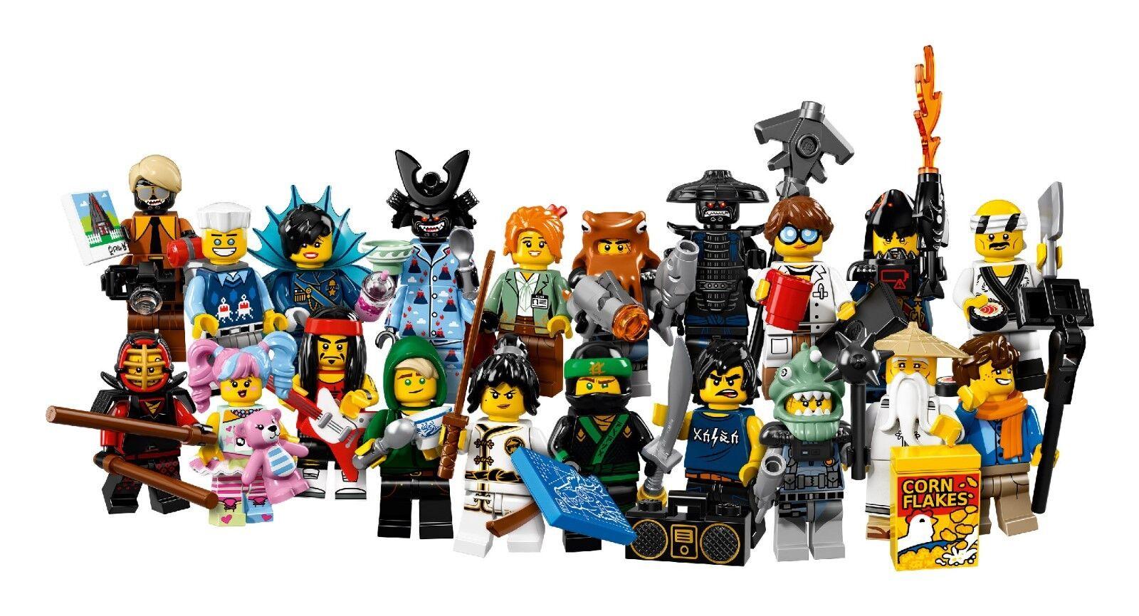 LEGO® Ninjago Movie Minifigures 71019 der komplette Satz alle 20 Figuren