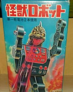 METAL-HOUSE-Battery-operated-Monster-Tin-Robot-Toy-Black-New-Unused
